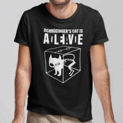 Schrodingers Cat Shirt Schrödinger's Cat ADLEIAVDE