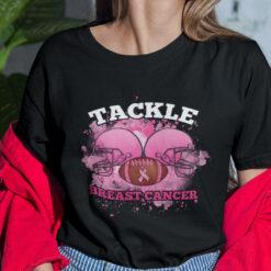 Tackle Breast Cancer Shirt Tackle Football Pink Ribbon