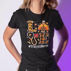 Turkey Love Thanksgiving Shirt Dialysis Nurse