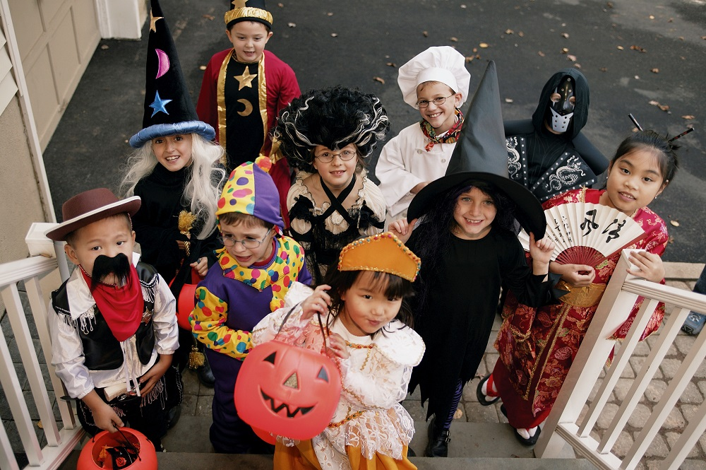 What to do on Halloween as a teenager- hand out candy