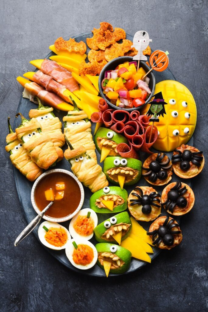 What to do on Halloween as a teenager- make Halloween foods