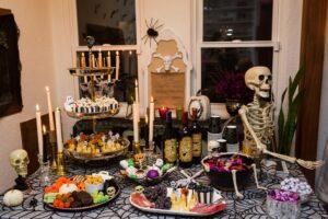 Halloween skeleton food ideas