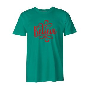 Believe T Shirt Mint