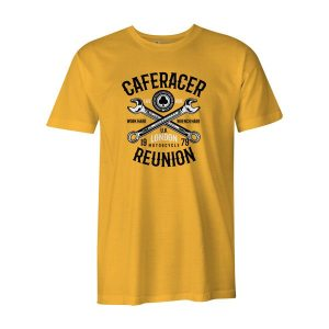 Cafe Racer Reunion T Shirt Sunshine