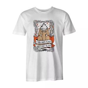 Cmon Inner Peace T Shirt White