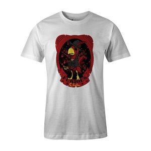 Furious Chicken T shirt white