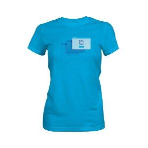 Its Ok T Shirt Turquoise