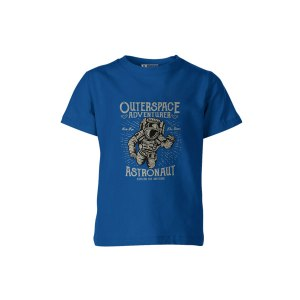 Outerspace Adventurer T Shirt Royal