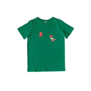 Skateboarding Eggs T-Shirt Kelly Green