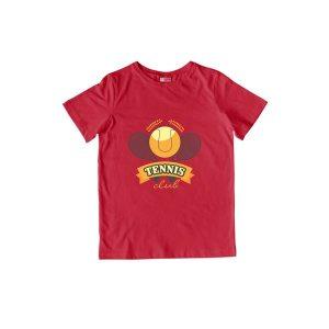 Tennis Club T-Shirt Red