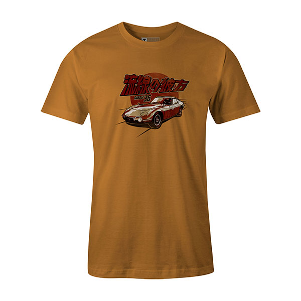 2000 GT T shirt ginger