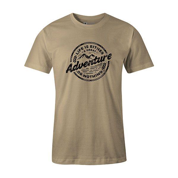 Adventure T shirt natural