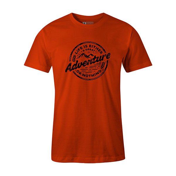 Adventure T shirt orange