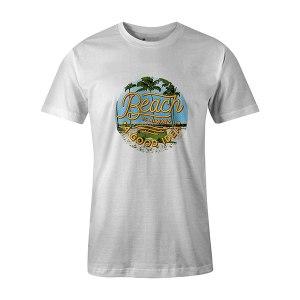 Beach Is Always A Good Idea T shirt white