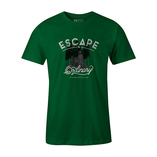 Escape The Ordinary T shirt kelly