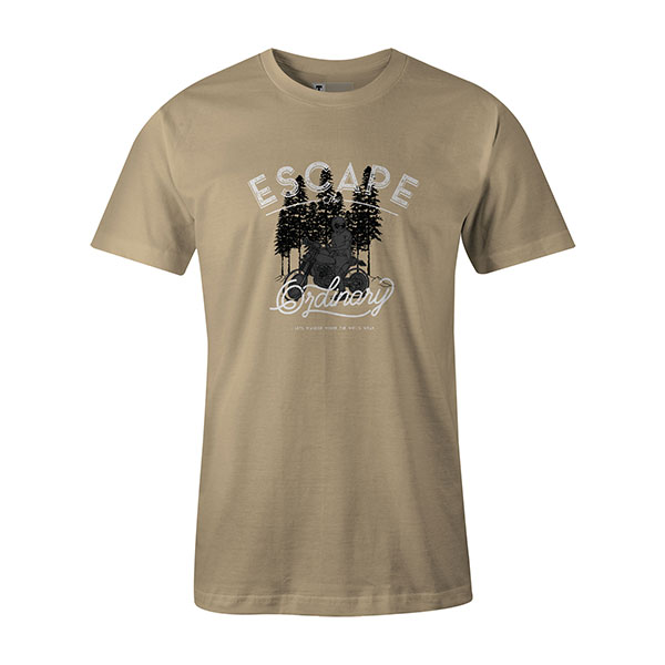 Escape The Ordinary T shirt natural