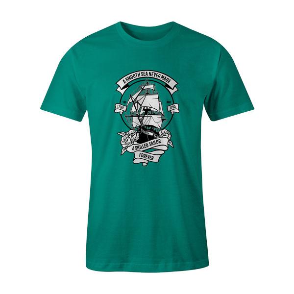 A Skilled Sailor T Shirt Teal