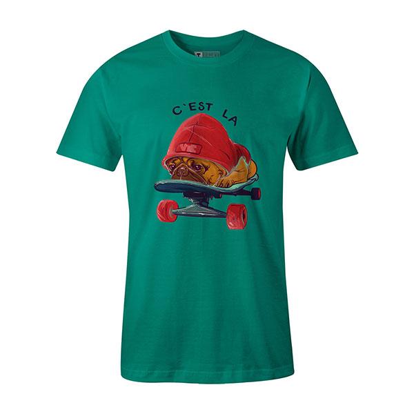 C est La Vie T shirt mint