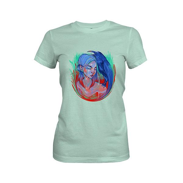 Little Bird T shirt mint