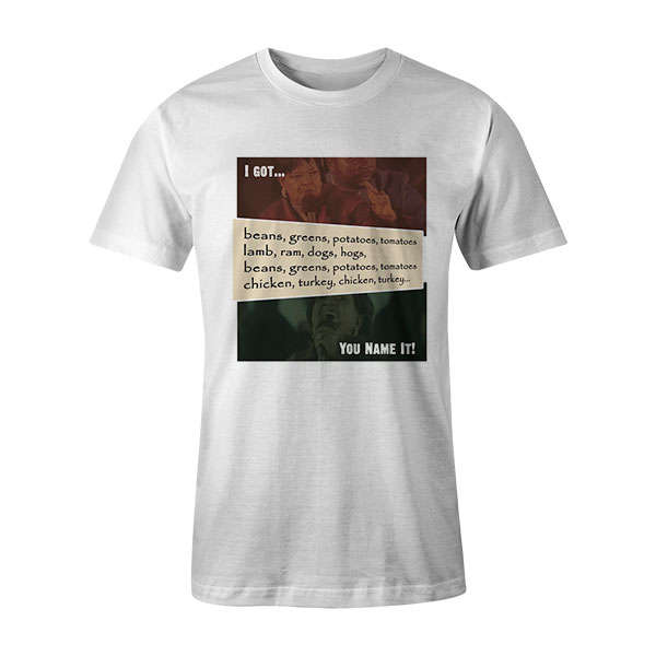 Beans and Greens T Shirt White2