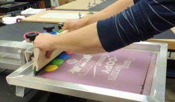 Screen Printing Method