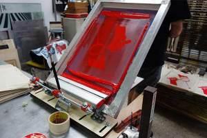 screen printed materials