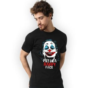 Men's T-shirts (Put on a happy face)
