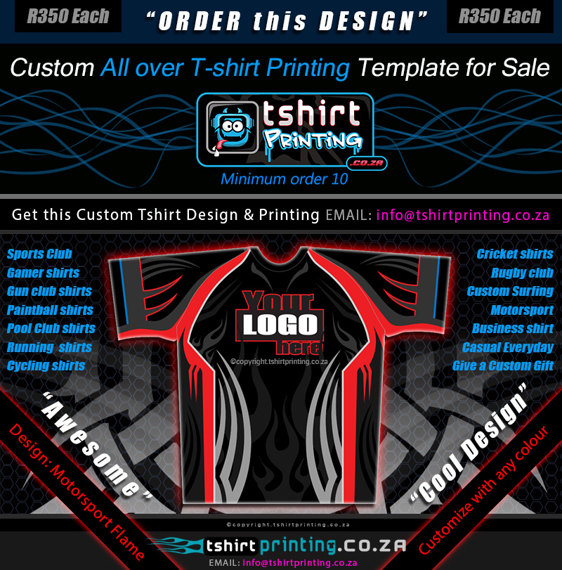 T shirt designer johannesburg for Graphic t shirt printing company