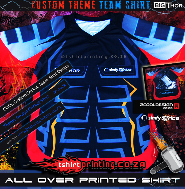 Thor-Inspired-Cricket-Team-Sports-shirt-All-over-print,thor shirt,thor team shirt,cricket shirt,cool crikcet shirt design,cool action crikcet shirt,cool all over printed shirt, all over shirt print south africa,custom theme shirt,super hero t-shirt,cool vneck shirt,vneck,8pack,6pack shirt,thor hammer,tshirtprinting.co.za t-shirt design,2cooldesign.co.za clothing