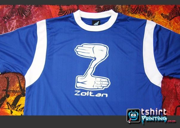 soccer team tshirt printing