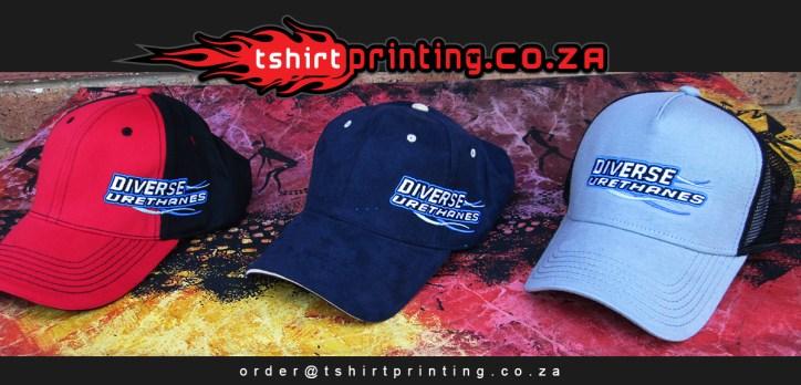 company cap printing