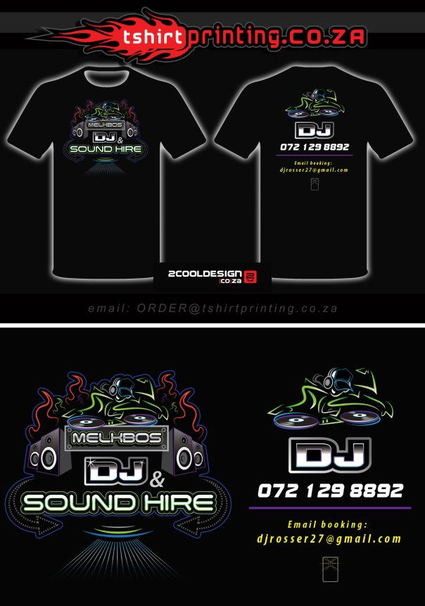 Logo & T-shirt design combo