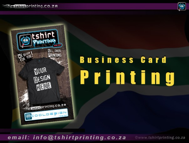 Business Card Design is R350 once off