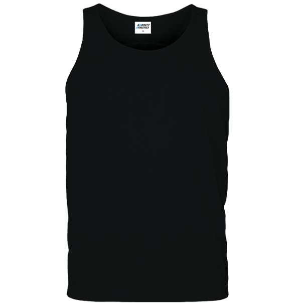 running vest men black plain