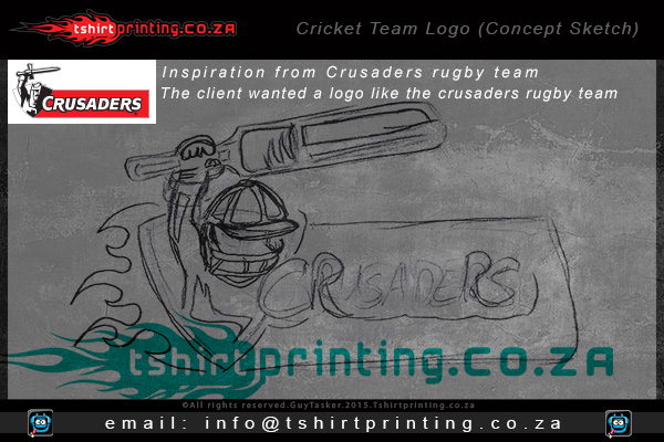 Crusaders-South-African-Cricket-Team-Sandton,sandton cricket,sandton t-shirt printer,Sandton printed shirts