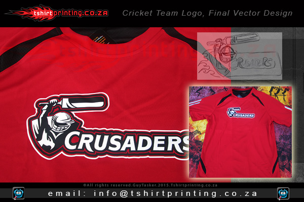Printed-cricket-shirt-crusaders-cricket-team-logo-Sandton-tshirt-print