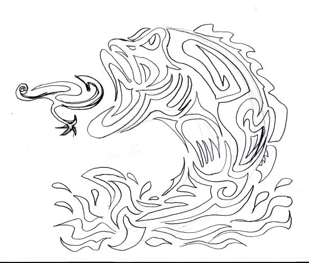 Tribal Bass sketch