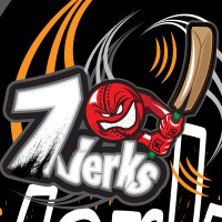 7-jerks cricket team logo by tshirtprinting.co.za