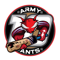 army ants cricket team logo by tshirtprinting.co.za