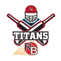 Titans RB cricket team logo by tshirtprinting.co.za