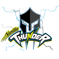Vanilla Thunder cricket team logo by tshirtprinting.co.za