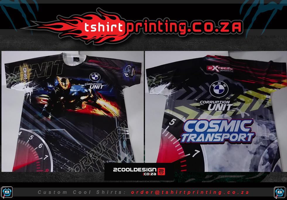 Motor Sport Spinning Tshirt Design All Over Print