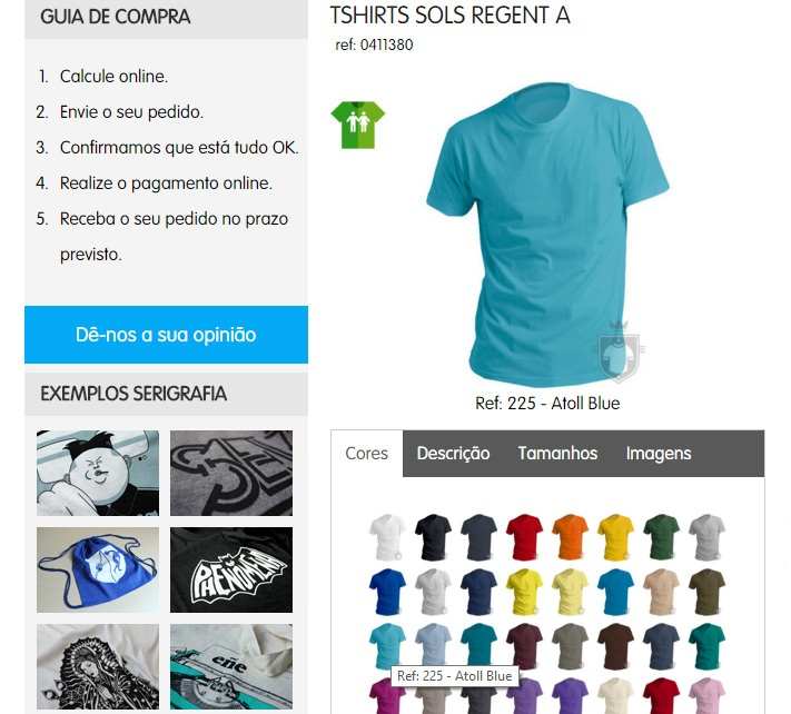 T-shirts cores