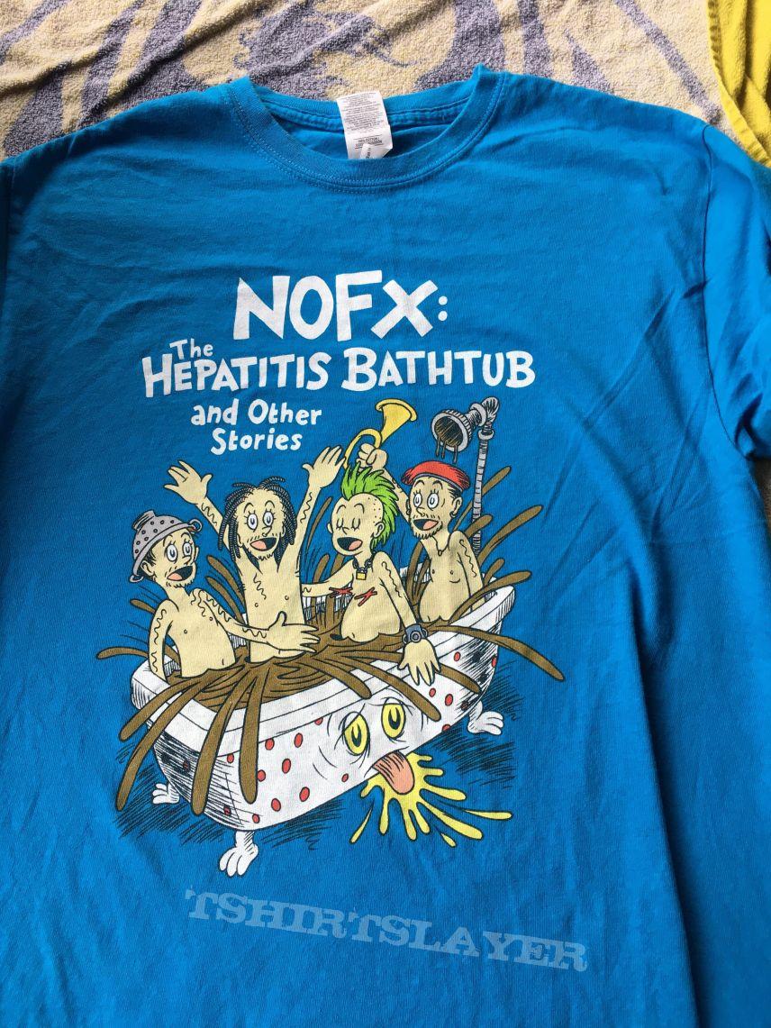 NOFX Hepatitis Bathtub Tour 2016 TShirtSlayer TShirt And