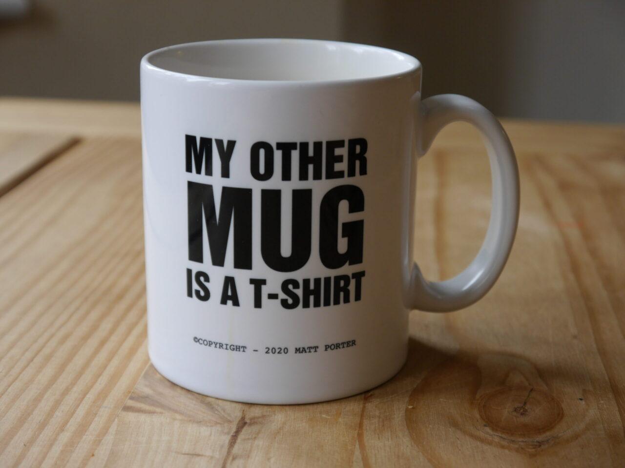 80s Custom Slogan Mug