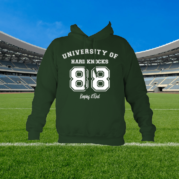 Custom Hoodie You Choose the Text and Colours