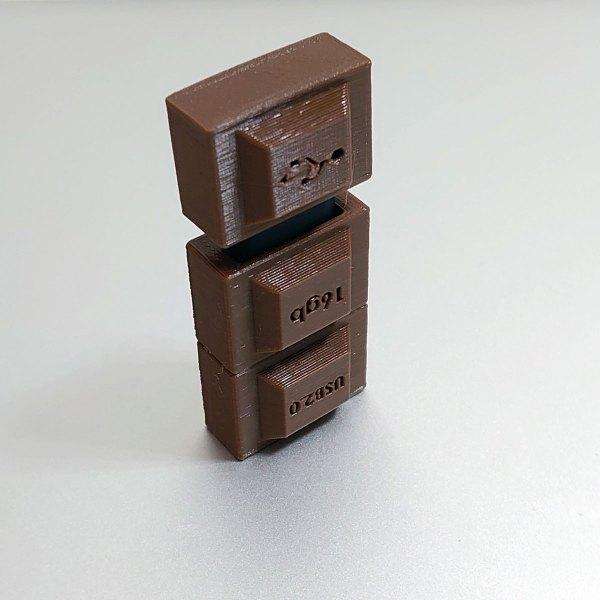 Novelty Chocolate Bar USB Drive