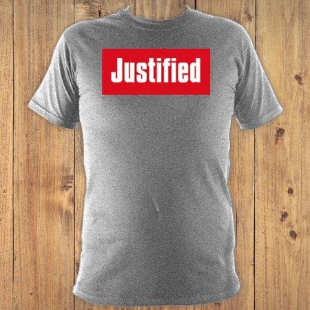Justified T-Shirt Grey