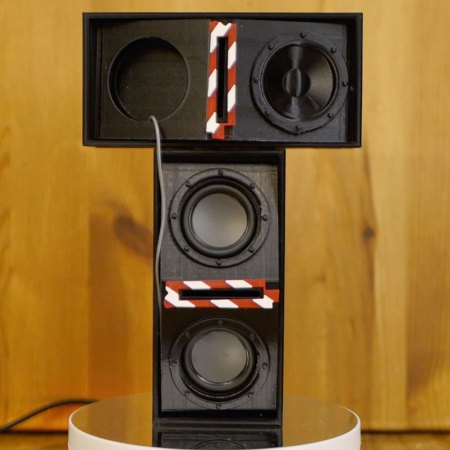 KLF Inspired Bluetooth Transcentral Stereo Speaker System - 3D Printed to Order