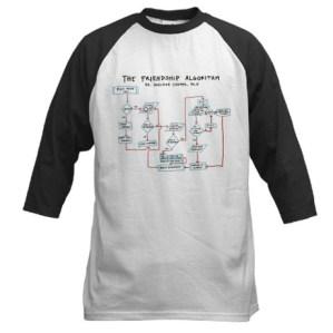 Big Bang Theory Friendship Algorithm Shirts